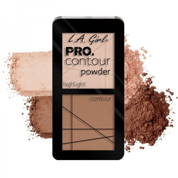 L.A. Girl - Contour Palette - Pro.Contour Powder - Fair