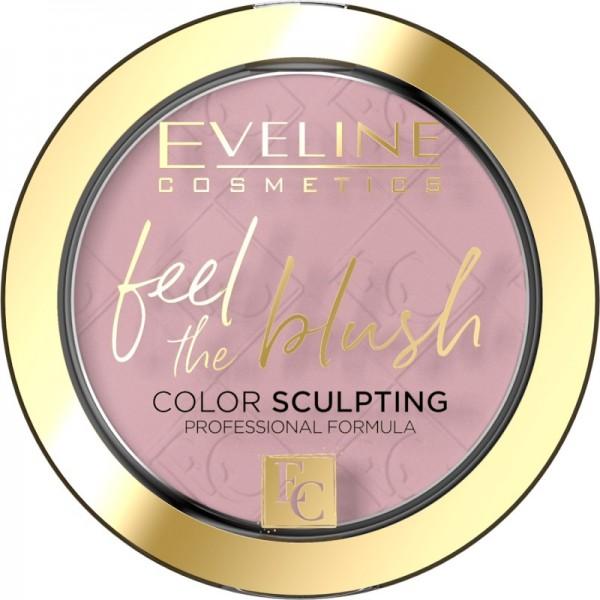 Eveline Cosmetics - Feel The Blush - No 01 Peony