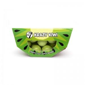 W7 - Fruity Fizzy Bath Bombs - Krazy Kiwi