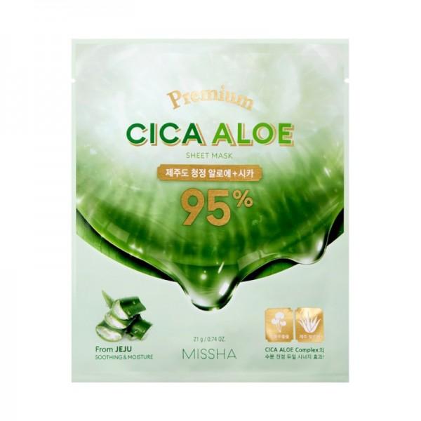 Missha - Premium Cica Aloe Sheet Mask