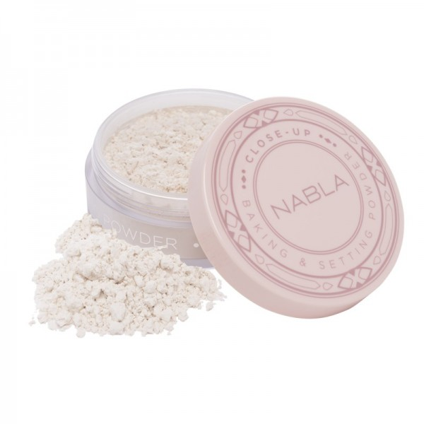 Nabla - Puder - Close-Up Line - Baking & Setting Powder - Translucent