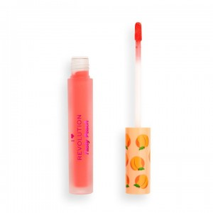 I Heart Revolution - Tasty Peach Soft Peach Liquid Lipstick - Juice
