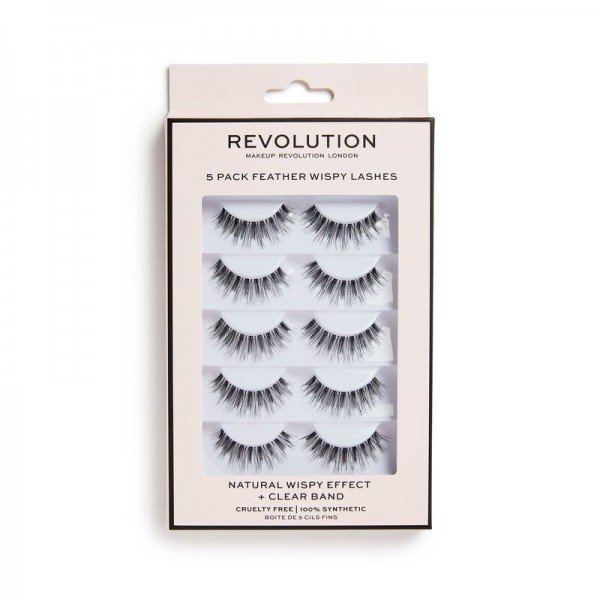 Revolution - Revolution 5 Pack Wispy Lashes