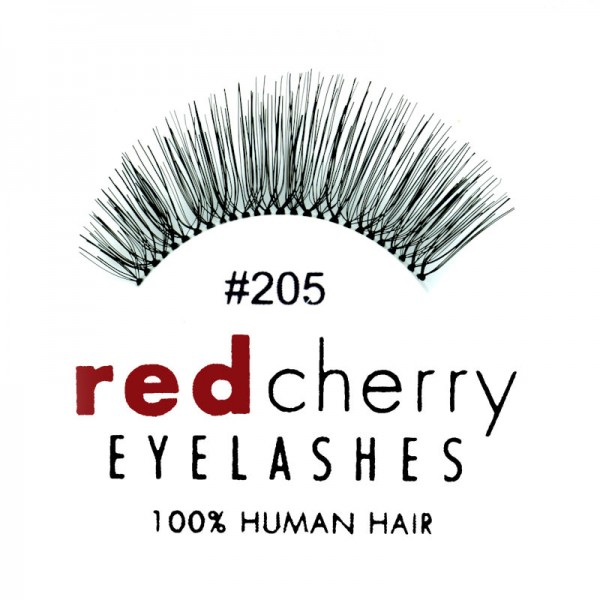 Red Cherry - Falsche Wimpern Nr. 205 Therese - Echthaar