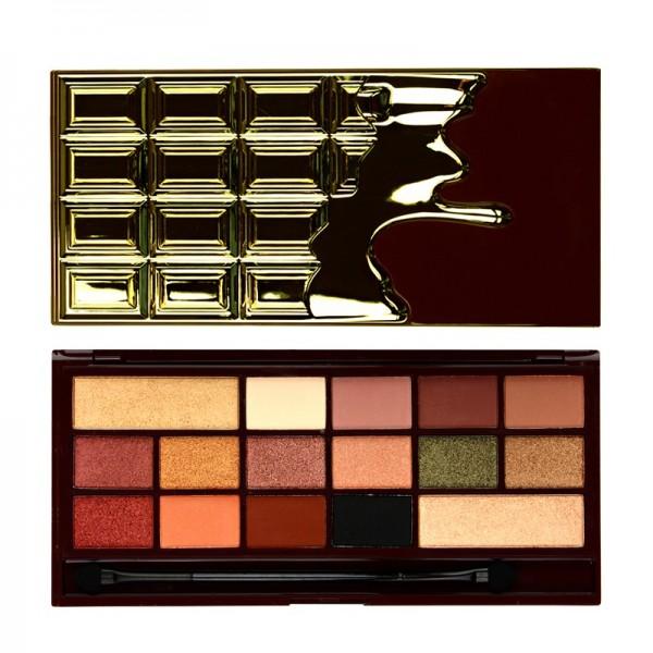 I Heart Makeup - Lidschattenpalette - Chocolate Palette - 24k gold