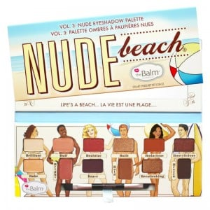 The Balm - Lidschattenpalette - Nude Beach Volume 3