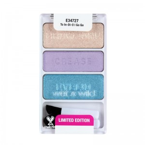 wet n wild - Lidschattenpalette - Color Icon Eyeshadow Trio - To In-Di-O Go Go