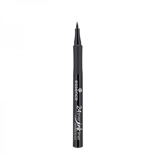 essence - Eyeliner - 24ever ink liner 01 - Intense Black