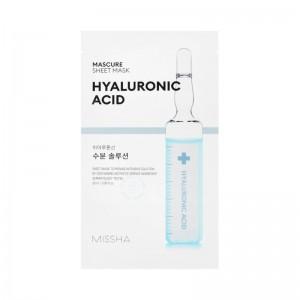 MISSHA - Gesichtsmaske - Mascure Hydra Solution Sheet Mask - Hyaluronic Acid