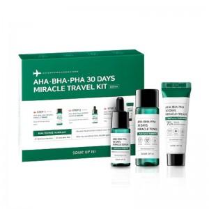 Some By Mi - Gesichtspflegeset - AHA BHA PHA 30 Days Miracle Travel Kit