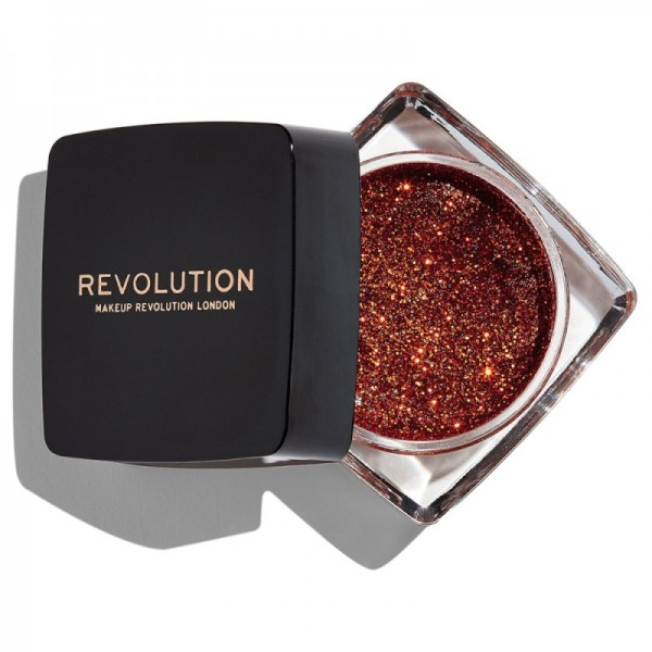 Makeup Revolution - Creamy Glitter Paste - Feels Like Fire