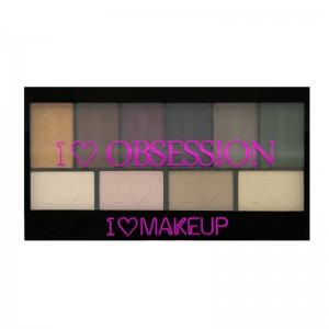 I Heart Makeup - Eyeshadow Palette - I Heart Obsession Palette - West End Girls