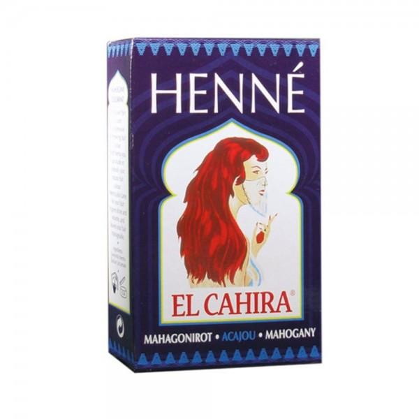 Hennedrog - Tintura di capelli all'henné - Henne El Cahira - Acajou/Mahogany
