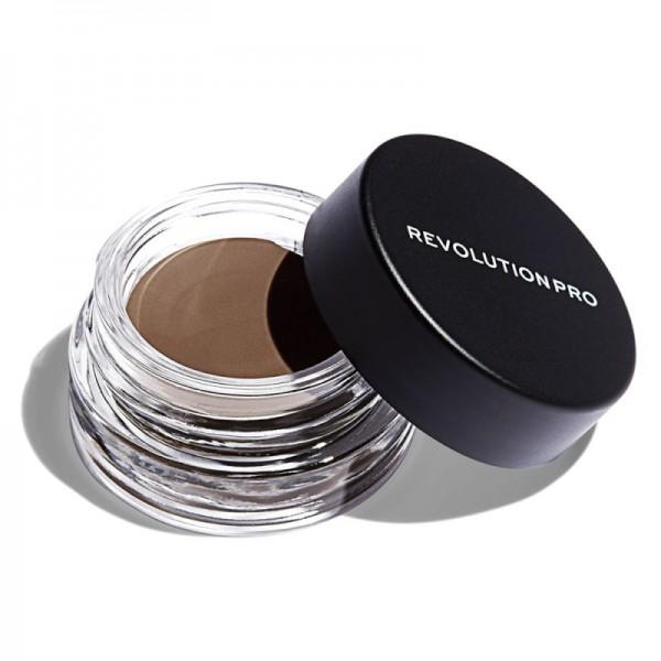 Revolution Pro - Augenbrauenpomade - Brow Pomade - Medium Brown