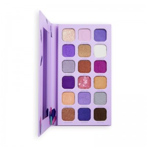 I Heart Revolution - Lidschattenpalette - Book of Spells Eyeshadow Palette - Fortunes and Crystals