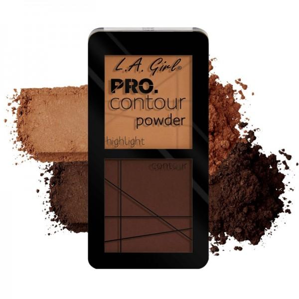 L.A. Girl - Contour Palette - Pro.Contour Powder - Deep