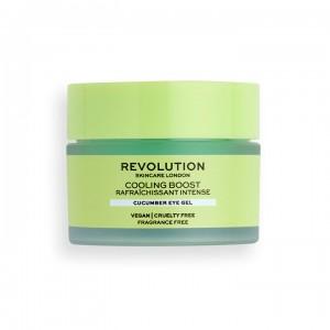 Revolution - Augencreme - Skincare Cooling Boost Cucumber Eye Gel