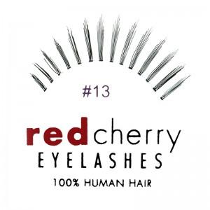 Red Cherry - Falsche Wimpern Nr. 13 Bones - Echthaar
