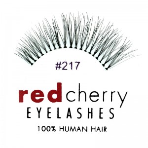 Red Cherry - False Eyelashes No. 217 Trace - Human Hair