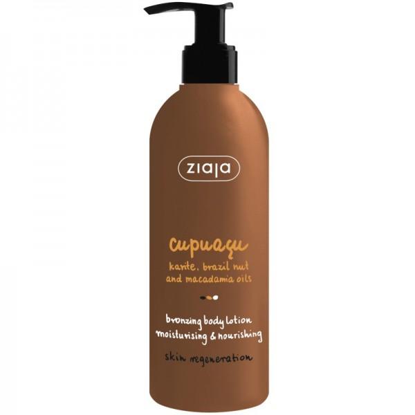 Ziaja - Hautpflege - Cupuacu Bronzing Body Lotion Moisturizing and Nourishing