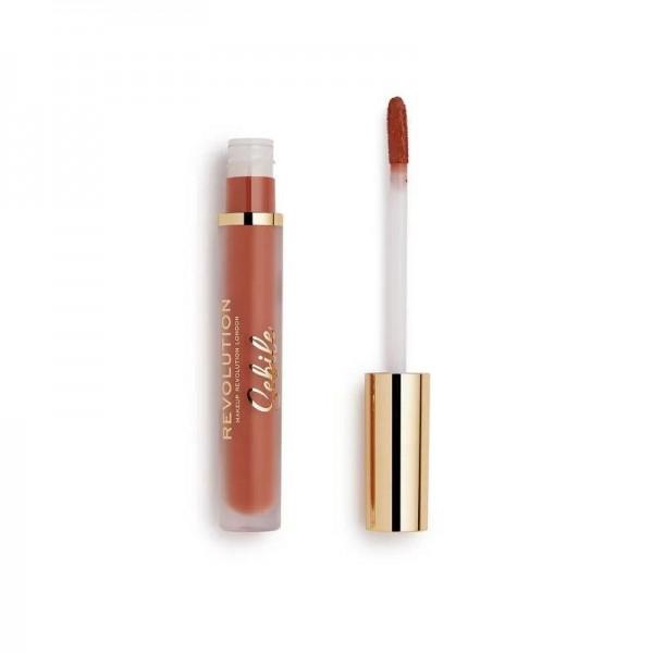 Revolution - Flüssiger Lippenstift - Revolution x Sebile - Matte Liquid Lipstick - Get Noticed