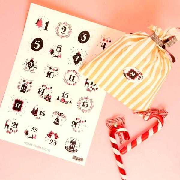 lenibeauty - DIY Adventskalenderset 7 - DIY Advent Calendar Set