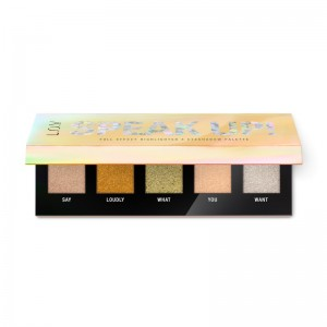 L.O.V - Eyeshadow & Highlighter Palette - SPEAK UP! full effect highlighter X eyeshadow palette