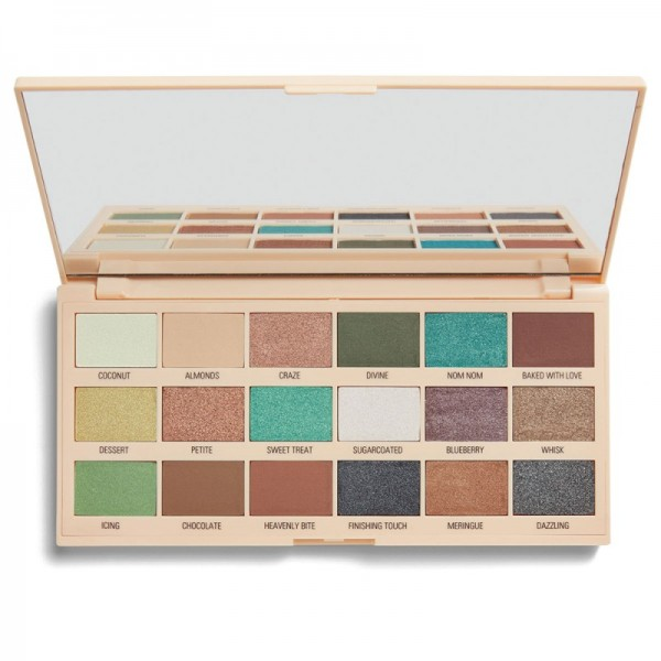 I Heart Revolution - Eyeshadow Palette - Macaroons Chocolate Palette