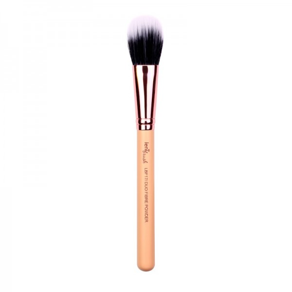 lenibrush - Duo Fibre Powder Brush - LBF17 - The Nude Edition