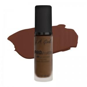 L.A. Girl - Foundation - Pro Matte - HD Long Wear Matte Foundation - 723 Espresso
