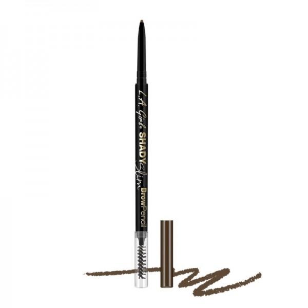 L.A. Girl - Brow Pencil - Shady Slim Pencil - Medium Brown