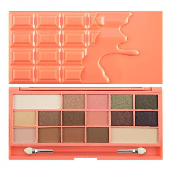 I Heart Makeup - Eyeshadow Palette - Chocolate Palette - Chocolate and Peaches