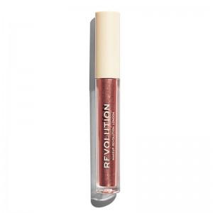 Makeup Revolution - Flüssiger Lippenstift - Nudes Collection Metallic - Pixelated