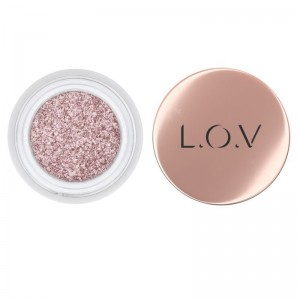 L.O.V - Lidschatten - THE GALAXY Eyeshadow & Liner 500 Rose Exposed