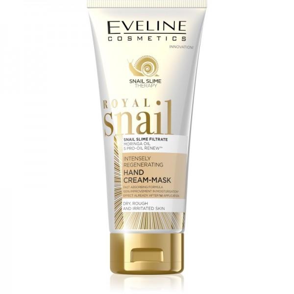 Eveline Cosmetics - Handmaske - Royal Snail Intensely Regenerating Hand Cream-Mask