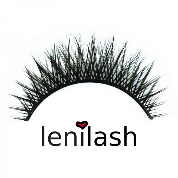 lenilash - False Eyelashes - Black/Brown - Nr.112