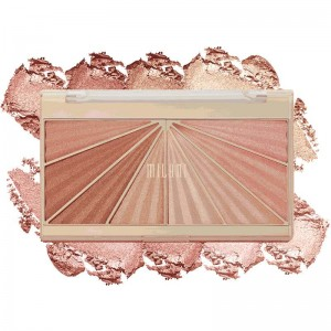 Milani - Highlighter- und Rougepalette - Shimmering Face Palette - Luminoso Glow