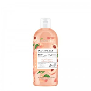 Bielenda - Mizellenwasser - Eco Sorbet Peach - Micellar Water - Moisturizing and Refreshing 500 ml