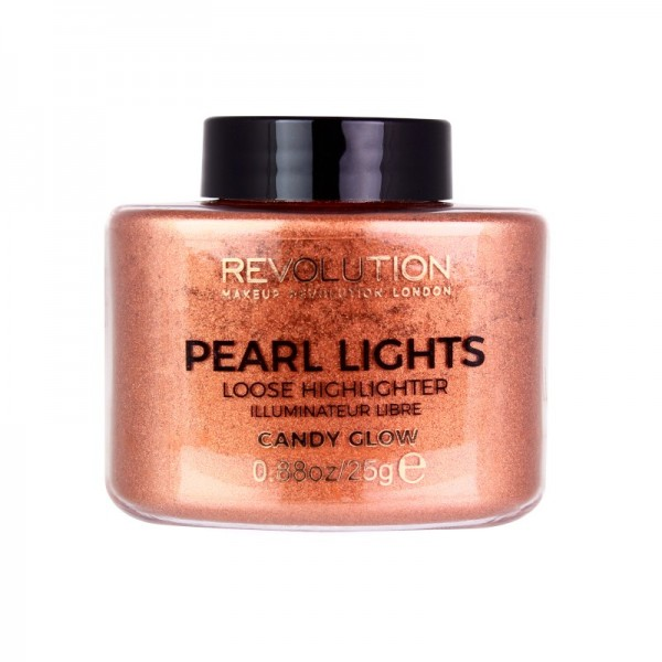 Makeup Revolution - Highlighter - Pearl Lights Loose Highlighter - Candy Glow