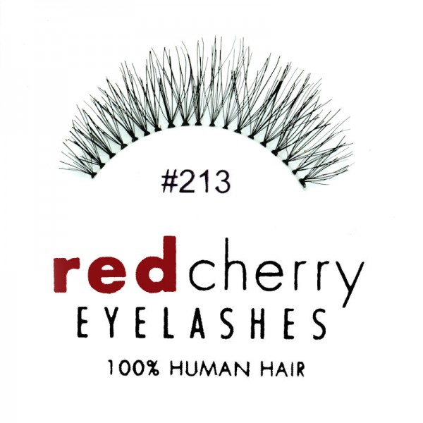 Red Cherry - False Eyelashes No. 213 Harley - Human Hair