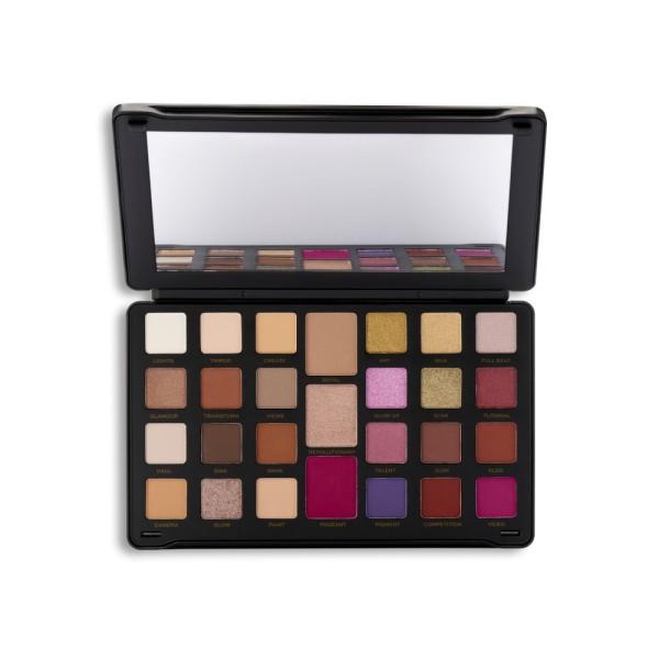 Revolution - Lidschattenpalette - Creator Limitless Eyeshadow Palette Nude Reign