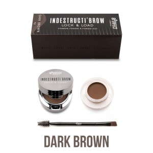 BPerfect - Augenbrauenpomade - indestructibrow Brow Lock & Load Eyebrow Pomade & Powder Duo - Dark B