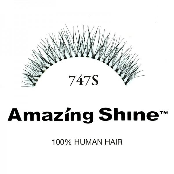 Amazing Shine - Falsche Wimpern - Wimpernbänder - Nr. 747S - Echthaar