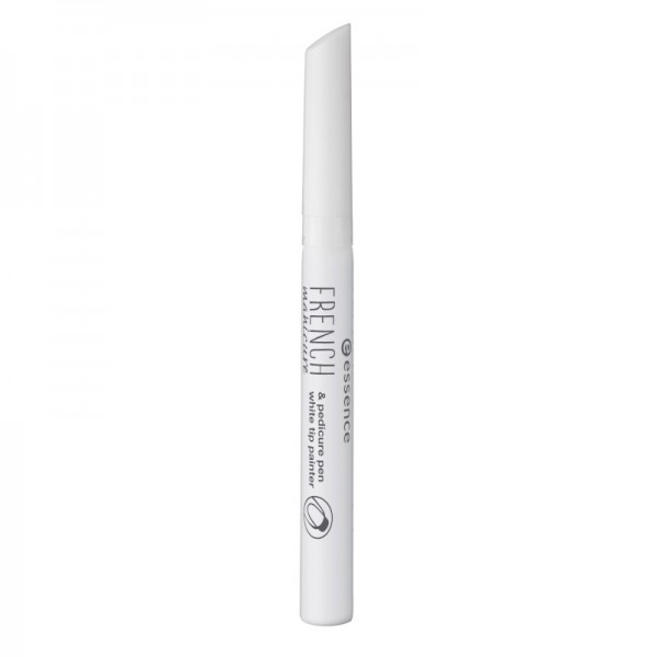 essence - Nageldesign - french manicure & pedicure pen - 01 white