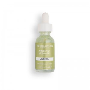 Revolution - Serum - Skincare Green Tea & Collagen Serum