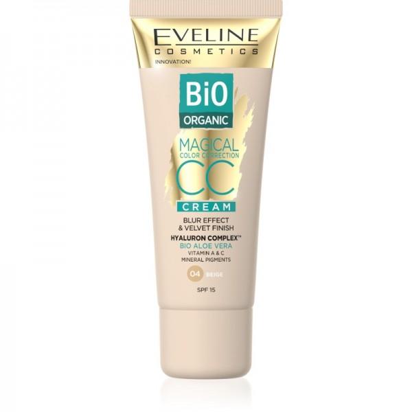 Eveline Cosmetics - Magical CC Cream Bio Organic Aloe Vera - 04 Beige