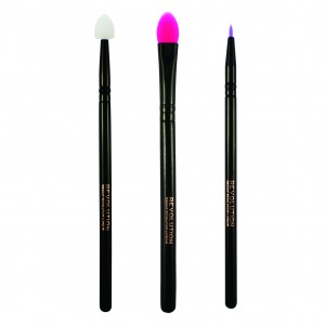 Makeup Revolution - Pinselset - Silicone Eye Set