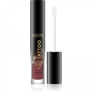 Eveline Cosmetics - Rossetto liquido - Kissy Tattoo Lip Tint - 02 Juicy Red