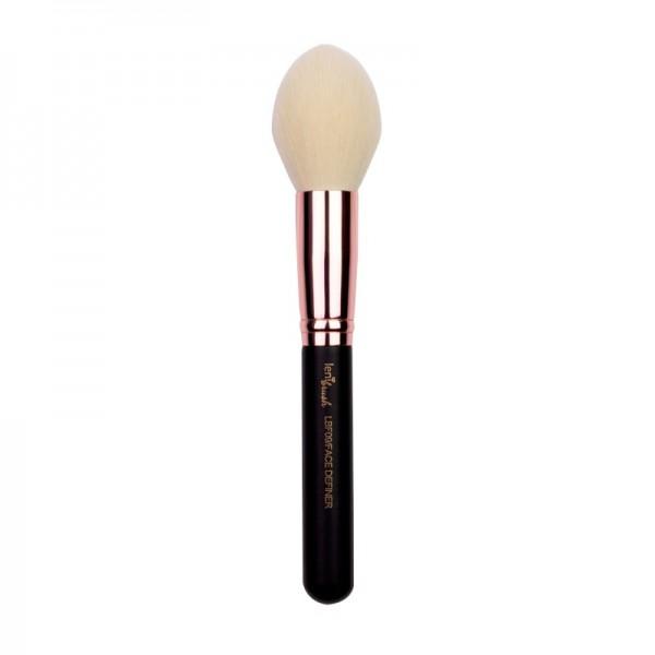 lenibrush - Face Definer Brush - LBF09 - Matte Black Edition