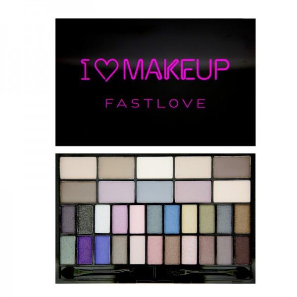 I Heart Makeup - Lidschatten Palette - Theme Palette - Fast Love